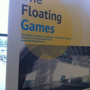 Floating Games concept van Come op expositie in Arcam