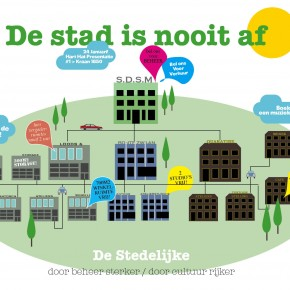 De stad is nooit af