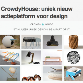 Come zet designsite CrowdyHouse in spotlight