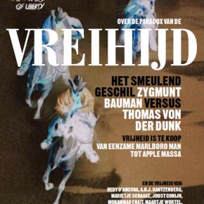 VREIHIJD, een magazine over de paradox van de vrijheid